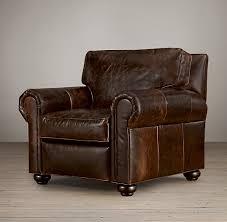 Rustic Leather Armchair Stupefying Oversized Leather Chair Western Rustic Leather