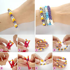 make loom band hair pins rubber band bracelets diy alldaychic