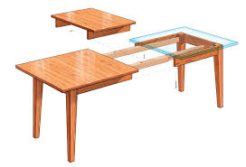 Plans For Building A Heavy Duty Picnic Table by Extension Dining Table Finewoodworking
