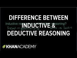 inductive u0026 deductive reasoning video khan academy