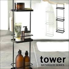 Black Bathroom Storage Bathroom Storage Cart Engem Me