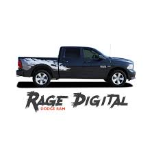 Dodge Ram Truck Models - dodge ram rage digital power wagon style bed striping tailgate