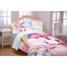 Rainbow Comforter Set Despicable Me Minons Fluffy The Unicorn Fluffy Rainbows Kids