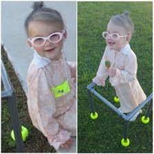 my little old lady halloween costume toddler grandma so stinkin