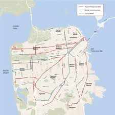 Muni San Francisco Map by As S F U0027s Transit Service Tries To Turn The Corner Are Uber Lyft