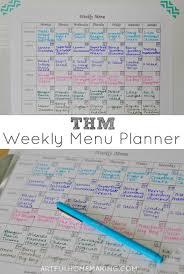 printable menu planner pages a trim healthy mama menu plan free printable menu planner sheet