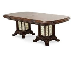 espresso rectangular dining table aico michael amini jane seymour design collaboration platine de