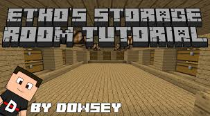 minecraft etho u0027s storage room tutorial 1 3 2 youtube