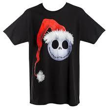 the nightmare before skellington santa hat