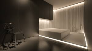Bedroom Lighting by Minimalist Inspirations From Oporski Architektura