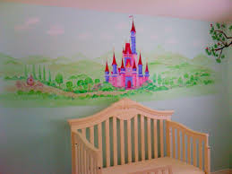 castle murals archives hand painted murals for children dream castle in pink and purple