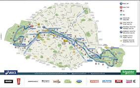 New York City Marathon Map by Schneider Electric Marathon De Paris Apr 08 2018 World U0027s Marathons