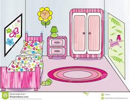 Girls Bedroom Artwork Picture Of A Bedroom Clipart Clipartsgram Com