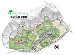 santa clarita map central park facility details city of santa clarita ca