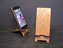 Diy Multi Device Charging Station Universal Wood Smart Phone Stand Wooden Docking Station 5