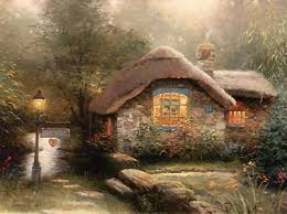 collectors cottage kinkade world wide 625 00