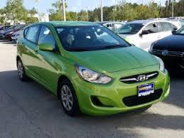 hyundai accent green green hyundai accent for sale carmax