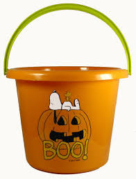 snoopy halloween trick or treat bucket snoopn4pnuts com