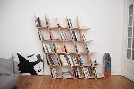 Modular Bookcase Systems Modular L Bookshelf Expands Infinitely In Any Direction