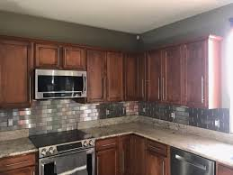 stick on subway tile backsplash backsplash stickers peel stick