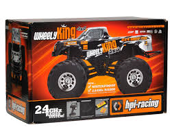 racing monster truck wheely king 4wd rtr monster truck by hpi racing hpi106173 cars