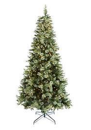 biltmore 9 ft pre lit snow kissed yosemite pine mixed tip tree belk