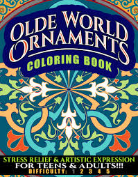 olde world ornaments coloring book n d author services ndas