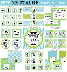 little man baby shower free printables www awalkinhell com www