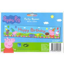 peppa pig birthday supplies peppa pig kids party supplies happy birthday banner party supplies
