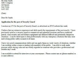 cover letter exles canada security officer cover letter sle security guards companies