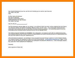 nursing resignation letters resignation letter format resignation