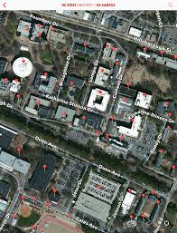 Nc State Map On Campus Your Guide At Nc State University