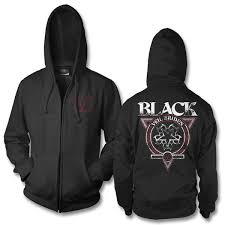 black veil official black veil brides black seal zip hoodie black veil brides