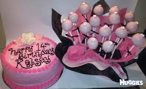 paris theme cake pops and birthday cake huggies birthday cake