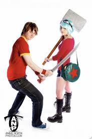 Fat Ramona Flowers - scott and ramona cosplay by sparr0 on deviantart