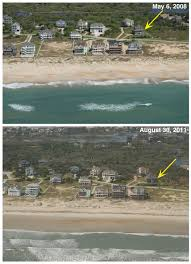 Nc Coast Map Pre And Post Storm Photo Comparisons Cape Lookout To Oregon