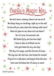 santa key santas magic key digistitches