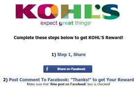 kohl s thanksgiving coupon scam