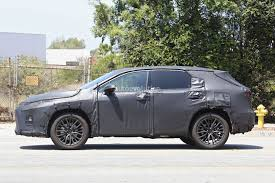 lexus rx blacked out 2016 lexus rx seven seater spied looks like lexus listen to their