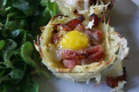 caille cuisine nids de pomme de terre pour oeuf de caille la cuisine facile de