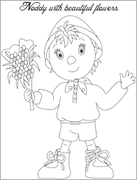 noddy printable colouring pages to print make way for coloring