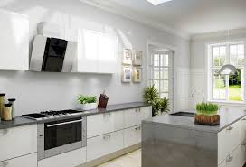 High Gloss White Kitchen Cabinets 17 White And Simple High Gloss Kitchen Designs Home Design Lover