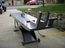 motorcycle lift table plans spectacular used lift tables for sale f23 on stylish home decoration