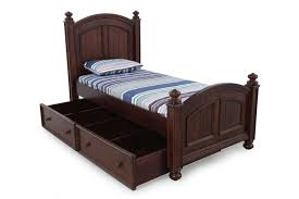 winners only cape cod chocolate bed with trundle mathis brothers