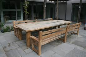how to make a rustic kitchen table top 62 fine diy rustic dining table ideas outdoor plans homemade
