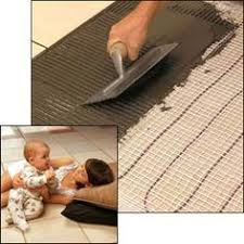 Heated Bathroom Floors How To Install In Floor Heat Radiant Heat Heated Bathroom Floor