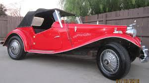 replica cars 1952 mg mg td replica for sale near bakersfield california 93312