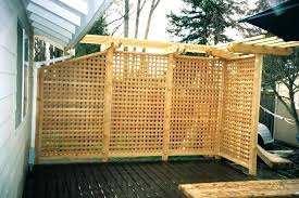 Diy L Shade Pleasant Outdoor Patio Privacy Screen Screens Patios Ideas L With