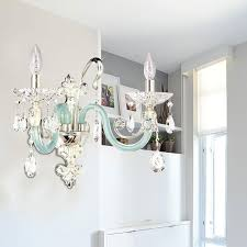 Crystal Wall Sconce by Crystal Wall Sconce Bathroom U2022 Wall Sconces