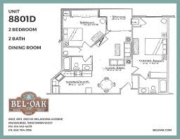 floor plans bel oak apartments